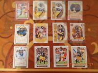12 x 2019 Panini Legacy Pittsburgh Steelers Football Cards