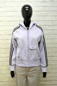 Felpa Donna Adidas Taglia 44 Maglione Maglia Sportiva Pullover Cardigan Women