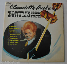 CLAUDETTE AUCHU: Forum's Organ Player LP Record Montreal Canadiens SIGNED
