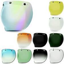 Bell 3-Snap Bubble Visor Shield For Motorcycle Custom 500 Helmet | All Colours