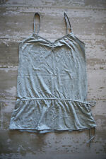 Victoria's Secret PINK Side Tie Heather Gray Dress Beach Cover Up Size M