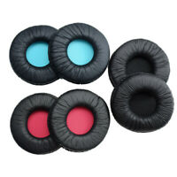 Replacement Earpads Ear Pad Cushions Covers Black For Sony MDR-V55 Headphone