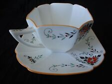 Vintage! Shelley Queen Anne Shape Tea Cup & Saucer, Rd 723404  #11619,  No Tax