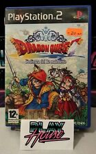 Dragon Quest L'odissea del Re Maledetto PS2 Playstation 2 PAL ITA Completo