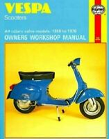 Vespa Scooters Owners Workshop Manual : All Rotary Valve Models 1959 to 1978:...