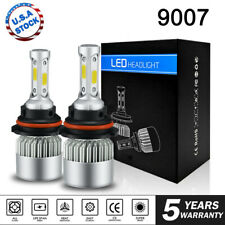 1900W 285000LM All In One LED 9007 Headlight Kit Hi/Lo Beam 6000K White Power