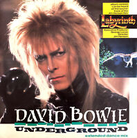 "David Bowie 12"" Underground (Extended Dance Mix) - UK (VG+/EX)"