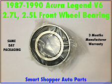 1987 1988 1989 1990 Acura Legend V6 2.7L or 2.5L Front Wheel Bearing-Single