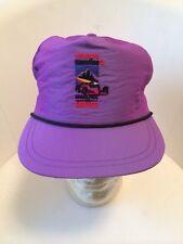 VTG Purple Texaco Havoline Logo Snapback Hat Cap NOS Grand Prix Of Denver Rare