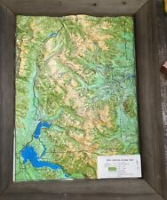 The Rocky Mountain National Park Information Guide with 3-D Map