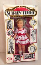 """VINTAGE IDEAL SHIRLEY TEMPLE DOLL NO 1125 """"NOW APPEARING SHIRLEY TEMPLE""""/ NRFB"""