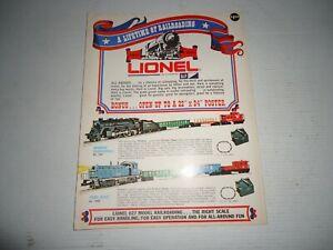 Lionel 1970 Consumer Train Catalog