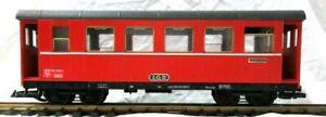 LGB 3063 RhB EXPRESS TRAIN COACH