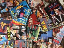 37 Martial Art Magazine Lot From the 80's and 90's