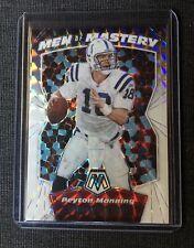 2020 Panini Mosaic Peyton Manning Men Of Mastery White Prizm 23/25 Colts Spectra