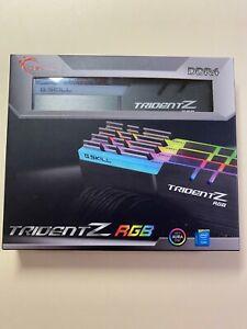 G. SKILL TridentZ RGB Series 64GB (4 x 16GB) DIMM DDR4 3200