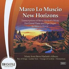 "Marco Lo Muscio: New Horizons"" - The Music of Steve Hackett (CD Drycastle) RARE"