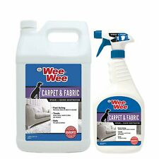 Four Paws Wee-Wee Pet Stain & Odor Remover Combo Pack 1 Gallon & 32 Fl Oz Spray