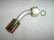 AC A/C  FITTINGS,BEADLOCK CRIMP ON,FEMALE O RING  45 DEGREE  #10 0082 BL1313