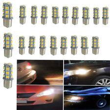 20x 12V 1156 18SMD BA15S 5050 7503 1141 LED White Car RV Trailer Light Lamp Bulb