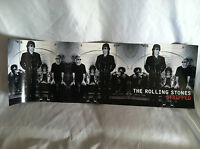 Collectible The Rolling Stones, Stripped 1995 Virgin Records Promo Poster