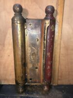 ANTIQUE TWO-WAY BOMMER SPRING HINGE,LARGE.