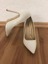 092110d62015c2 Schöne Stilettos von Jumex Gr. 39 Weiss High Heels Pumps White