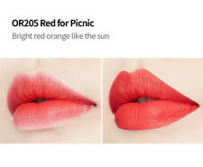 Etude house blossom picnic matte chic lip lacquer OR205 Red For Picnic