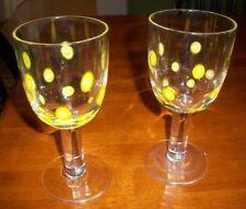 Set of 2 Leonardo Millefiori Water glass beautiful and rare-MINT