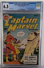 Captain Marvel #33 (1944) CGC 6.5 Classic Omaha Cover Monster Society of Evil!!!