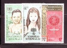 LAOS Sc 74-6 NH set of 1962 - Malaria issue
