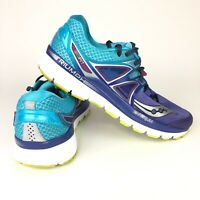 Saucony Triumph ISO 3 Blue Purple Running Shoes S10346-1 Women Size 8.5