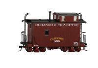 Bachmann On30 Scale Train Caboose Off-Set Cupola Durango & Silverton 26565