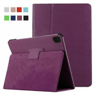 For Apple iPad Pro 12.9  2020 4th  2021 5th Leather 360 Rotate Smart Case Cover