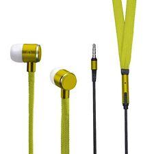 Original KZ Shoelace Earphone Shoelace EARPHONES SUPER BASS Stylish in Yellow