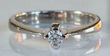 LARGE BEAUTIFUL 18CT GOLD DIAMOND RING