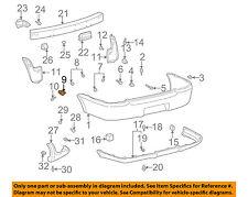 TOYOTA OEM 00-02 Echo Rear Bumper-Side Bracket 5218552020