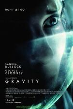 GRAVITY MOVIE POSTER Original MINT DS 27x40 SANDRA BULLOCK Final Style One Sheet