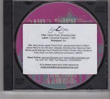 (GR42) David Rush, Shooting Star - 2008 DJ CD