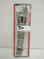 HO Scale ATLAS #561 CUSTOM-LINE CODE 83 #4 LEFT Turnout