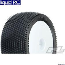 Pro-Line 8277-14 Prism 2.0 1/10 Buggy 2.2 Carpet Rear Tires Mntd White Z4 Comp