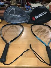 Head FURY OVERSIZE PYRAMID POWER Racquetball Racket Plus Matching Case More!