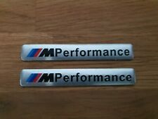 M Performance Sport Power Badge for BMW Silver
