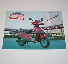 Prospekt / Broschüre Suzuki Roller CP 50 !