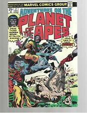Adventures On The Planet Of The Apes #2 1975 Marvel Comic Nm 9.2
