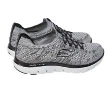 Ladies Skechers Flex Appeal 2.0 Womens Grey Lightweight Memory Foam Shoes UK 6