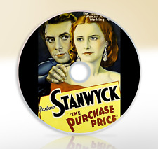 The Purchase Price (1932) DVD Classic Drama Movie / Film Barbara Stanwyck