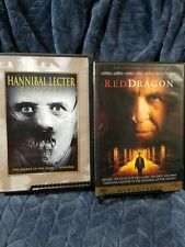 Hannibal Lecter Two-Pack Silence Of The Lambs, Hannibal AND Red Dragon 3 DVD Set
