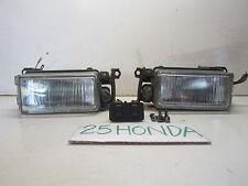 1990-1991 Honda Prelude Si OEM Stanley Fog Lights JDM Rare B20 B20A