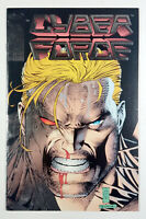 CYBER FORCE #4 Silver Embossed Foil Cover (1993) Image Comics